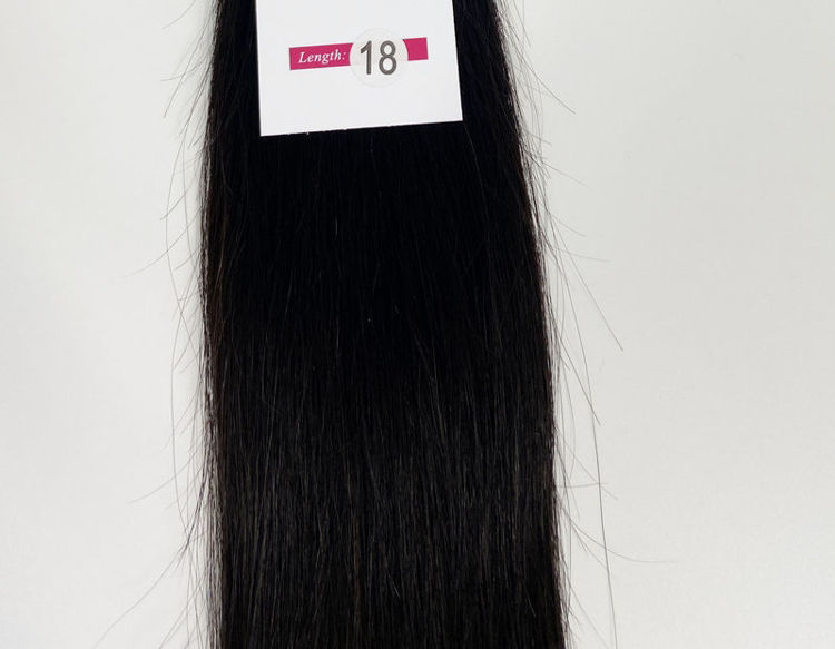 Picture of Rosa Hair Brazilian Straight Hair Bundles 100% Human Hair Extensions Weave Virgin Natural Color Products